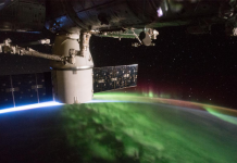 Crew aboard the International Space Station have repaired a leak that cause a slight loss of cabin pressure.