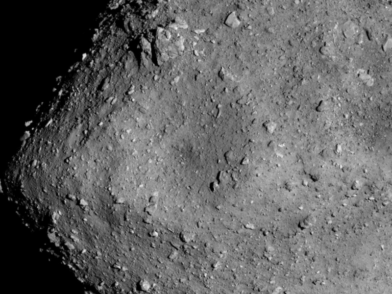 Japan's Hayabusa 2 has descended to within 400 meters of the surface of the 162173 Ryugu asteroid.