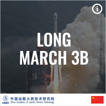 Rocket Index: China Academy of Launch Vehicle Technology CALT Long March 3B