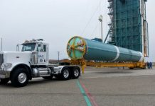 The final Delta II is being prepared for its launch next month at Vandenberg Air Force Base.