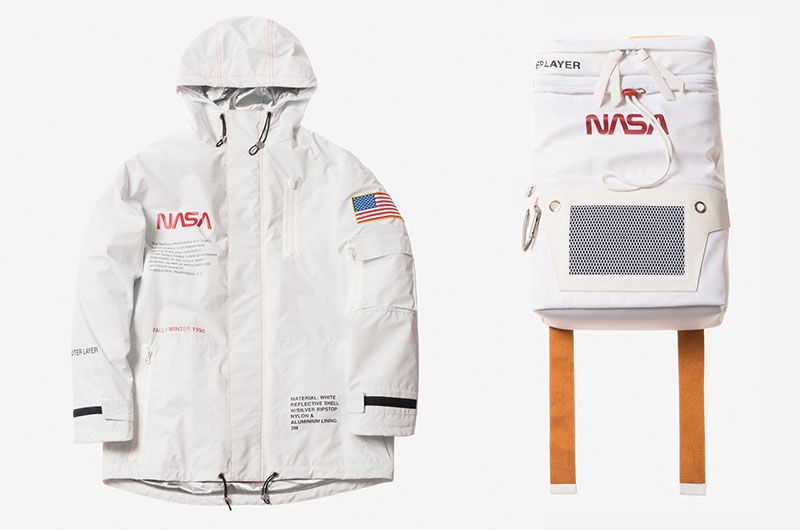 NASA inspire high fashion as Heron Preston creates Capsule collection to commemorate the agency's 60th anniversary.