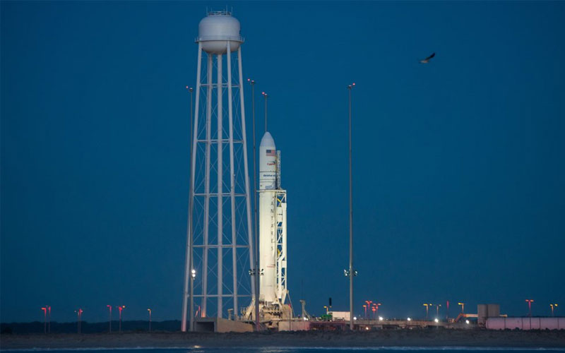 Northrop Grumman Antares rocket page.