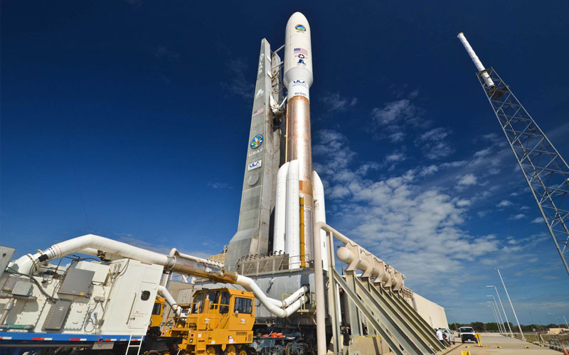 United Launch Alliance Atlas V rocket page.