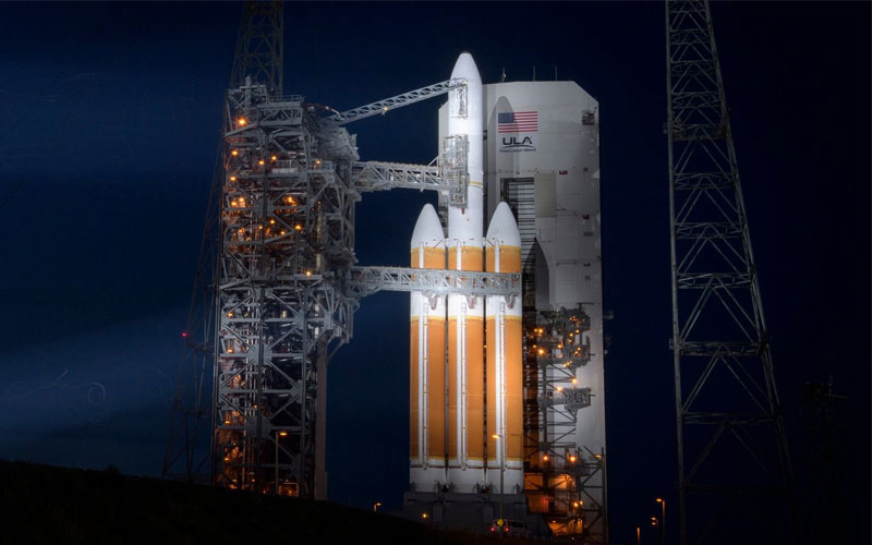 United Launch Alliance Delta IV rocket page.