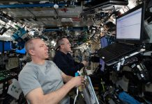 ISS commander denies crew involvement in station leak.