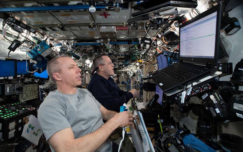ISS commander denies crew involvement in station leak.