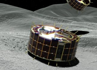 Hayabusa2 rovers return amazing images from the surface of Ryugu.