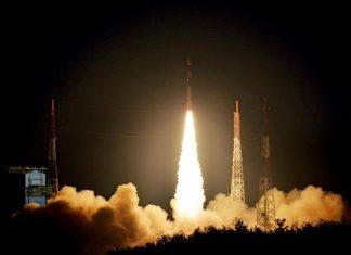 PSVL Rocket Launches British Spy Satellites.
