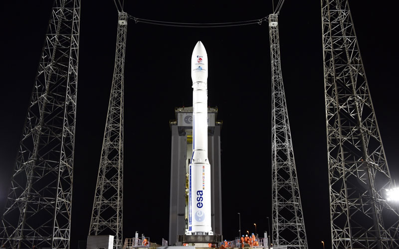 Avio Vega rocket page.