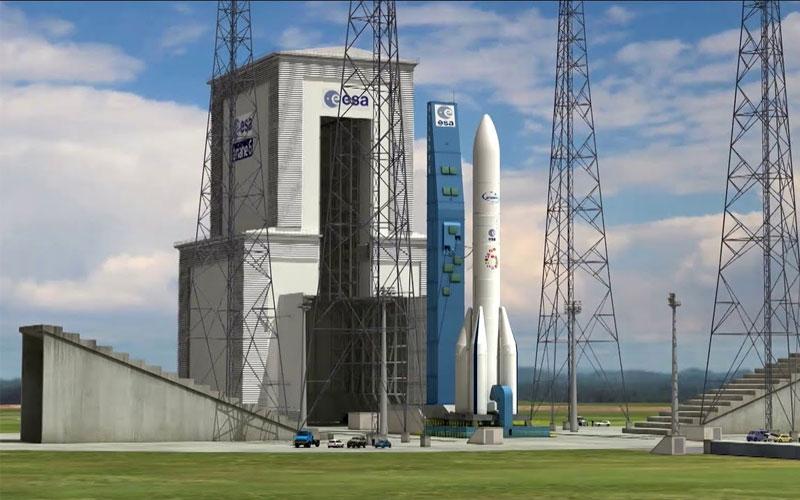 Arianespace Ariane 6 rocket page.