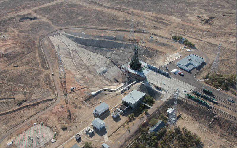 Baikonur Cosmodrome is Russia's primary launch facility and is used to launch all of the country's crewed missions.