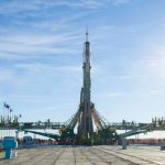 Expedition 57/58 crewmembers Alexey Ovchinin and NASA's Nick Hague are on their way to the International Space Station.