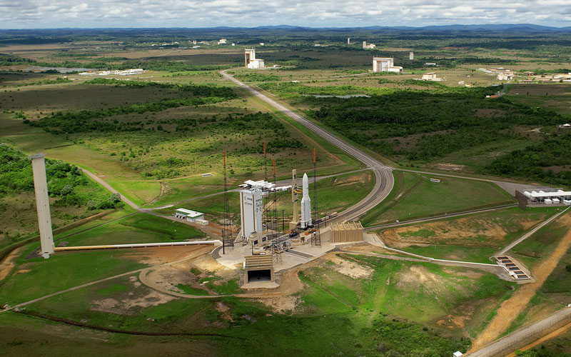 The Guiana Space Centre is the European Space Agency's primary launch site.