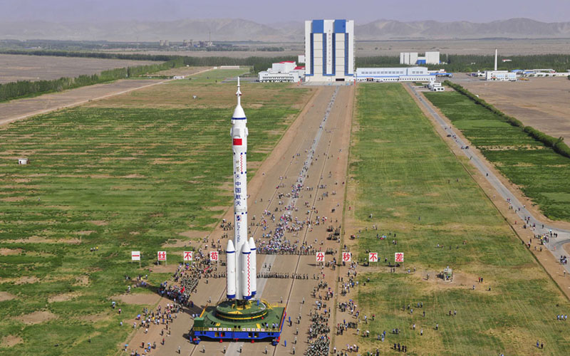 Jiuquan Satellite Launch Center is one of China's fourth operational launch facilities and is used to launch Long March rockets.