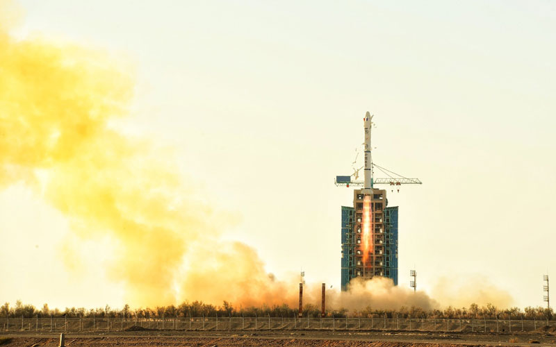 China launch French and China joint venture, CFOSat aboard a Long March 2C.