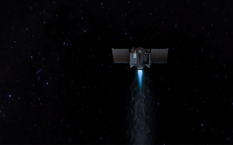 OSIRIS REx completes AAM-1 burn.