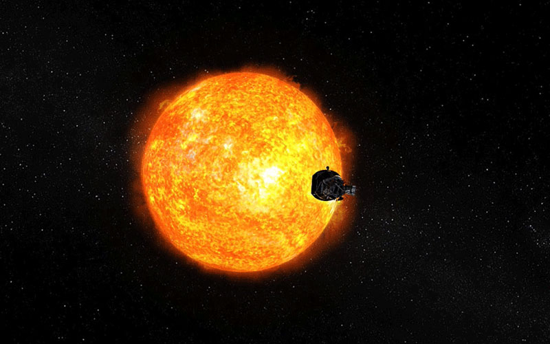 NASA's Parker Solar Probe has approached closer to the Sun than any spacecraft before it.
