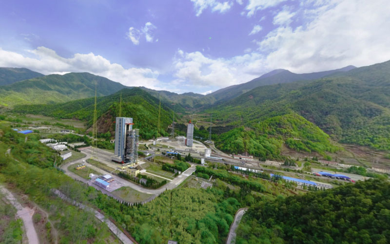 Xichang Satellite Launch Center is one of China's four active launch facilities and is used to launch Long March rockets.