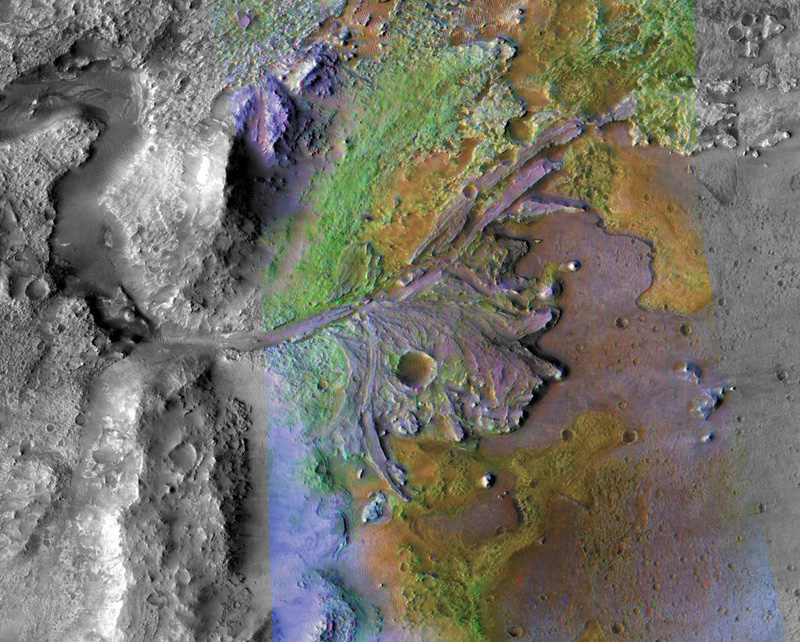 NASA has announced that the Mars 2020 rover will touch down in the Jezero Crater on the surface of the Red Planet.