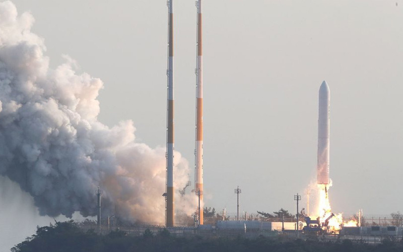 South Korea have successfully launched their KSLV-II TLV rocket for the first time.