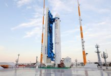 South Korea are set to launch a KSLV-II suborbital test vehicle from their Naro Space Center on 28 November 2018.