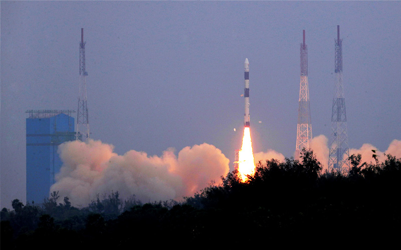 India has launched 31 satellites aboard their PSLV-C43 mission.