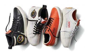 """Vans release NASA-inspired """"Space Voyager"""" Sneaker Collection."""