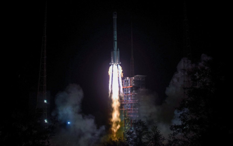 China has successfully launched their historic Chang'e-4 lunar mission to the far side of the moon.