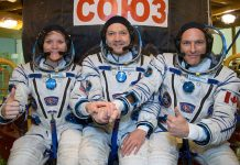 The International Space Station Expedition 58 crew has succesfully launched aboard the Soyuz MS-11 spacecraft.