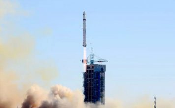 China launch their 35th orbital mission of 2018 deploying the SaudiSat-5A and 5B satellites and several microsatellites.