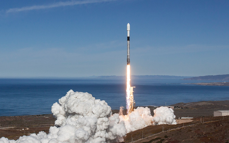 SpaceX has successfully launched Spaceflight Industries' SSO-A: SmallSat Express mission deploying 64 small satellites.