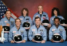We remember the brace men and women who lost their lives aboard the space shuttle Challenger today in 1968.
