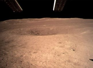 China has become the first country to successfully land on the far side of the moon. The country's Chang'e 4 lander touched down on the lunar surface earlier this morning.