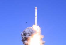 China has successfully launched four satellites aboard a quick-response Long March 11.