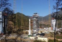 China prepare to launch the first orbital mission of 2019 aboard a Long March 3B rocket.