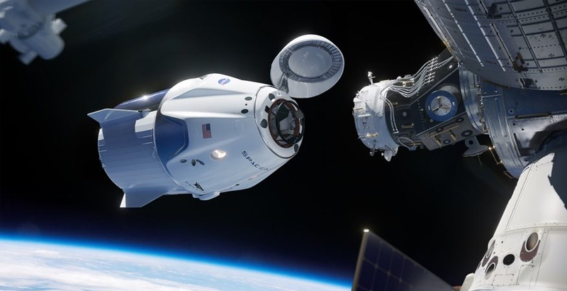 SpaceX is set to launch their first Crew Dragon 2 mission in January.