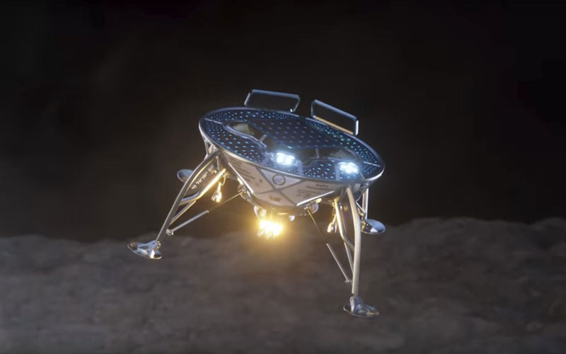 Israel's Beresheet lunar lander is set to be launched aboard a SpaceX Falcon 9 this month.