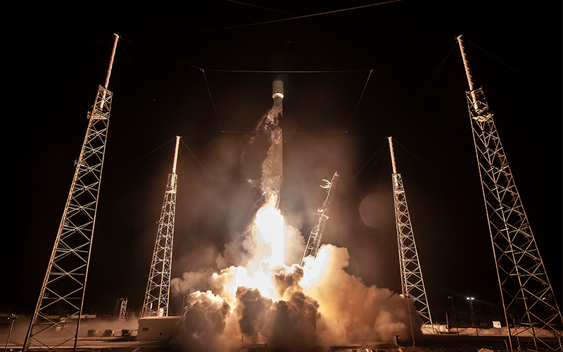 SpaceX has succesfully launched the world's first commercial lunar lander developed by the Israeli-based SpaceIL.