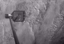 RemoveDEBRIS harpoon test successful.