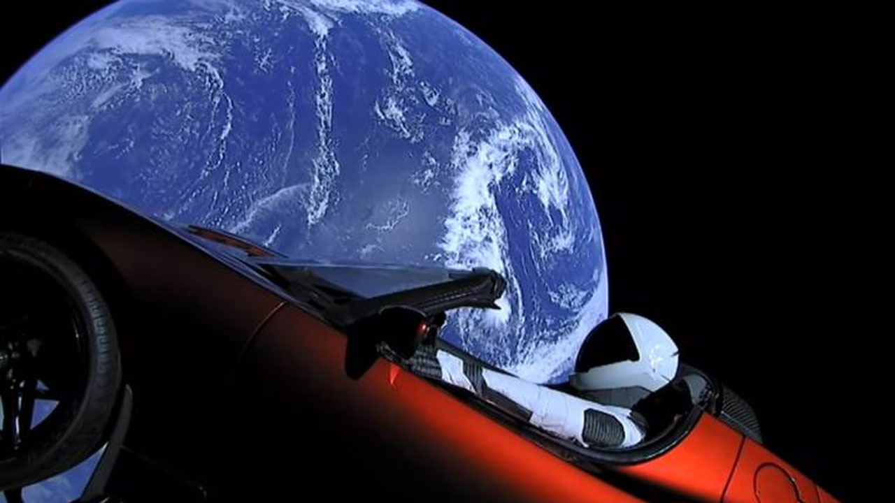 Researchers have warned that the Starman Tesla Roadster may impact with Earth in the next one million years.