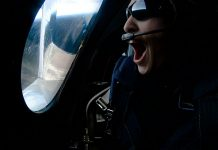 Virgin Galactic carry first passenger to space.