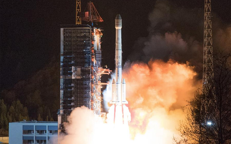 China has succesfully launched their 300th mission aboard one of their Long March family of rockets.