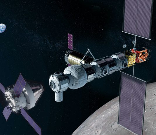 NASA has secured its first partner for the Gateway Lunar Outpost, Canada.