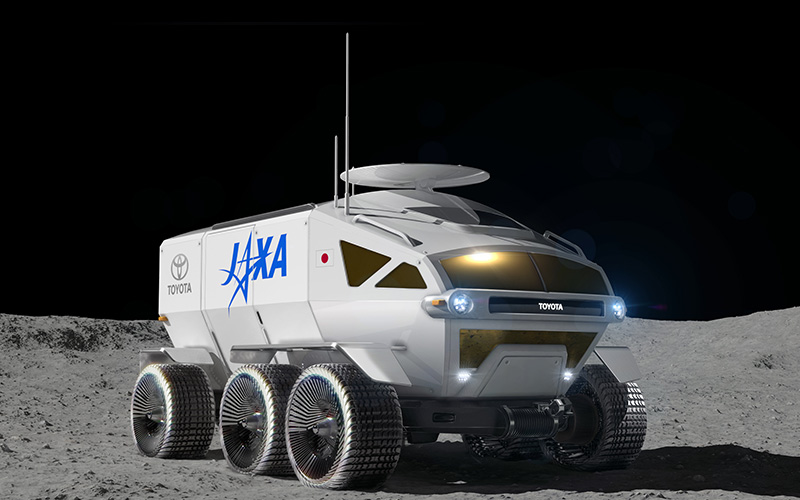 Toyota prepares to go into space