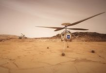 Small helicopter aboard Mars 2020 rover will explore the Red Planet's skies.