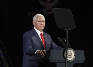 US Vice President Mike Pence outlines ambitious goal of returning to the moon by 2024.