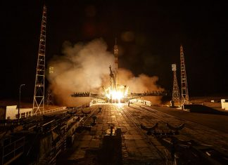 Three new crew members arrive at the International Space Station safely.