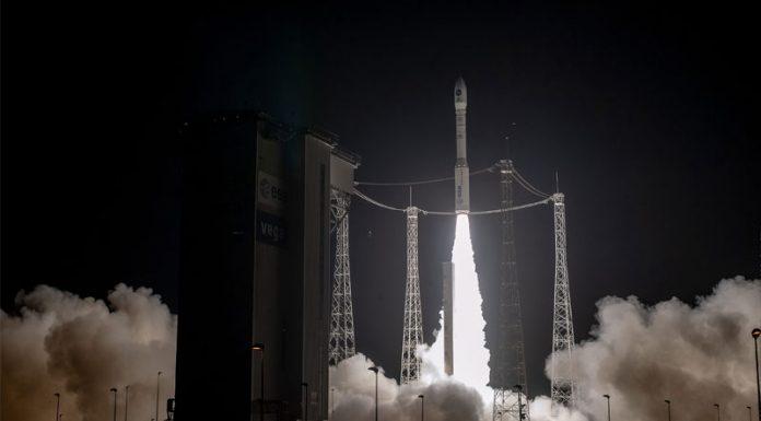 Arianespace launch PRISMA satellite aboard Vega rocket.