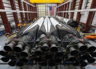SpaceX deploy Arabsat-6A satellite aboard first Block 5 Falcon Heavy rocket.