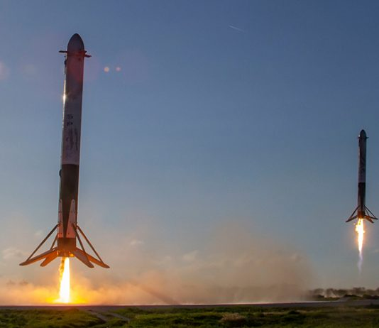 SpaceX has released a album of stunning Falcon Heavy Arabsat-6A launch photos.